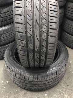 Tayar Second195/50/16 Dunlop 90%2pcs