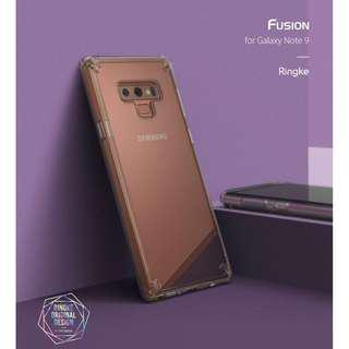 Ringke Fusion Case For Samsung Note 9 (Ready stock)