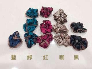 🚚 #017❤️特價❤️可愛素色緞面髮束髮圈/件