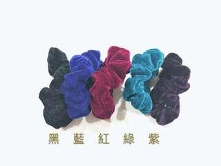 🚚 #016❤️特價出清❤️素色髮束一條$5  買二送一❗️