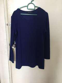 Otto Dark Blue Top / blouse