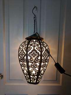 Handmade custom light