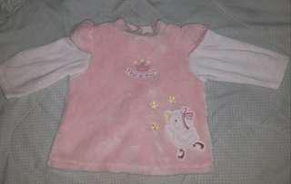 Baby girl pink sweater