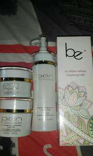 🚚 be icy white deluxe cleansing milk n p.e.n products