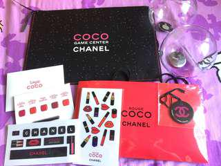 CHANEL COCO GAME CENTER 限量clutch套裝