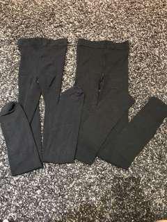 Stocking Tebal Hitam bisa untuk Legging, Set 2