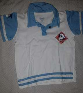 Mickey mouse baby boy top and short