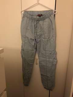 Baby Blue Painters Pants/Joggers