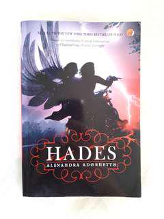 """HADES"" Novel by Alexandra Adornetto."
