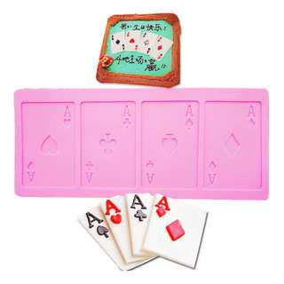 12656 | Card Game Ace Mold 4 in 1