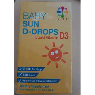 LIFE NUTRITION BABY SUN D-DROPS Vitamin D3