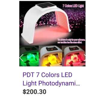 LED skin phototherapy instrument