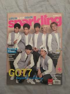 SPARKLING Magazine (Spring 2015) GOT7 & Boys Republic Cover