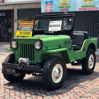 Jeep Willys Cj3B 1961 Civilian Style
