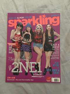 SPARKLING Magazine (Summer 2014) 2NE1 & A-JAX Cover