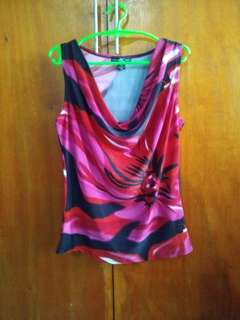 Floral comfy sleeveless M-L
