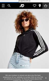 Adidas cropped Jumper