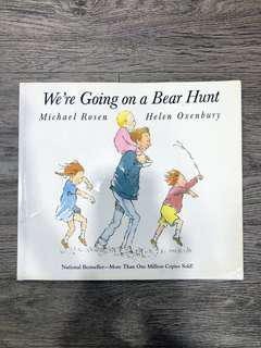 🚚 WE'RE GOING ON A BEAR HUNT Paperback