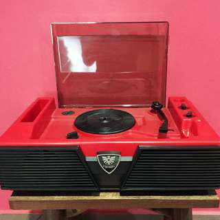 Vintage Columbia SE-50M Turntable Player with Built-in Speakers