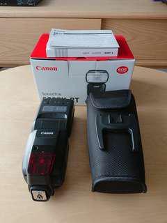 (B) Canon Speedlite 600 EX-RT