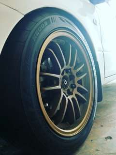 """Re30 16"""" with tyre $400"""