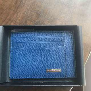 Brand New HUGO BOSS card holder(Blue)