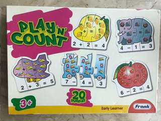 Play and count early learner cards