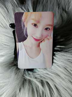 Taeyeon My Voice Official Photocard