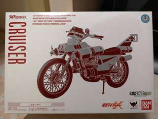 Shf 幪面超人 電單車 kamen Rider x cruiser