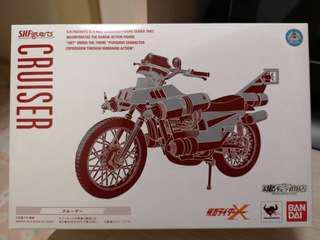 Shf 幪面超人 5號 x 電單車 kamen Rider x cruiser