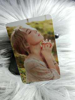 Taeyeon I Official Photocard