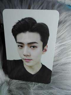 Sehun For Life Official Photocard