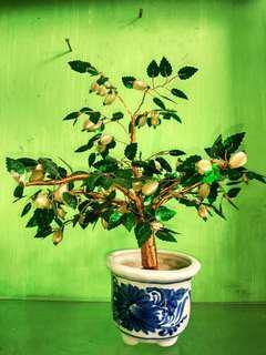 Vas+pohon buatan