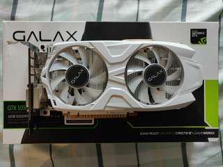 GALAX NVIDIA GTX 1050 TI 4GB EXOC WHITE EDITION