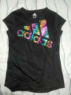 Adidas rainbow logo tee #under90