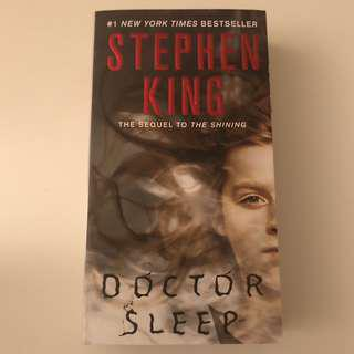 Doctor Sleep -Stephen King Book