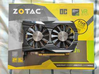ZOTAC NVIDIA GTX 1050 TI OC EDITION