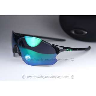 2c79eb1910 BINB Oakley Custom EV Zero Path polished black + jade iridium polarized  oo9308-08