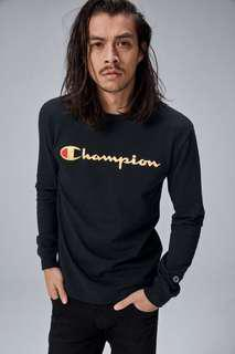 [PO] HERITAGE LONG SLEEVE TEE WITH GOLD SCRIPT