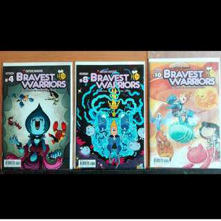 Various Comics - Bravest Warriors, Help Us Great Warrior, Feathers