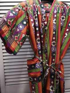 Bohemian kimono robe