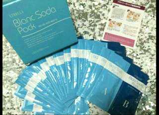 日本美容院 etbella胎盤骨膠原注氧碳酸煥膚面膜 co2 gel face pack