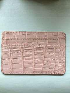 Kwanpen crocodile card holder 卡咭片套