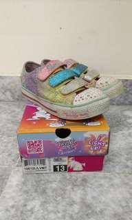 Skechers twinkle toes size 13