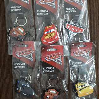 Cars Disney Keychain Collectibles