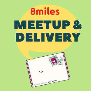 8miles Meetup schedule and delivery options