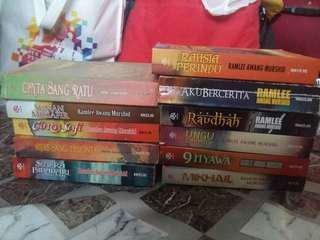 Ramlee Awang Murshid's novels for sale
