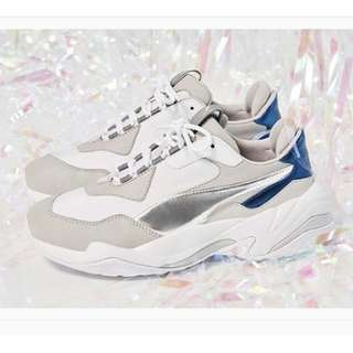"英國代購* Puma WMNS Thunder Electric ""White/Gray Violet"""