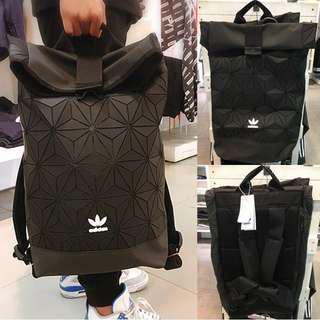 Adidas Issey Miyake Backpack in Black