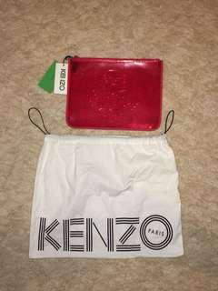 KENZO RED TIGER CLUTCH